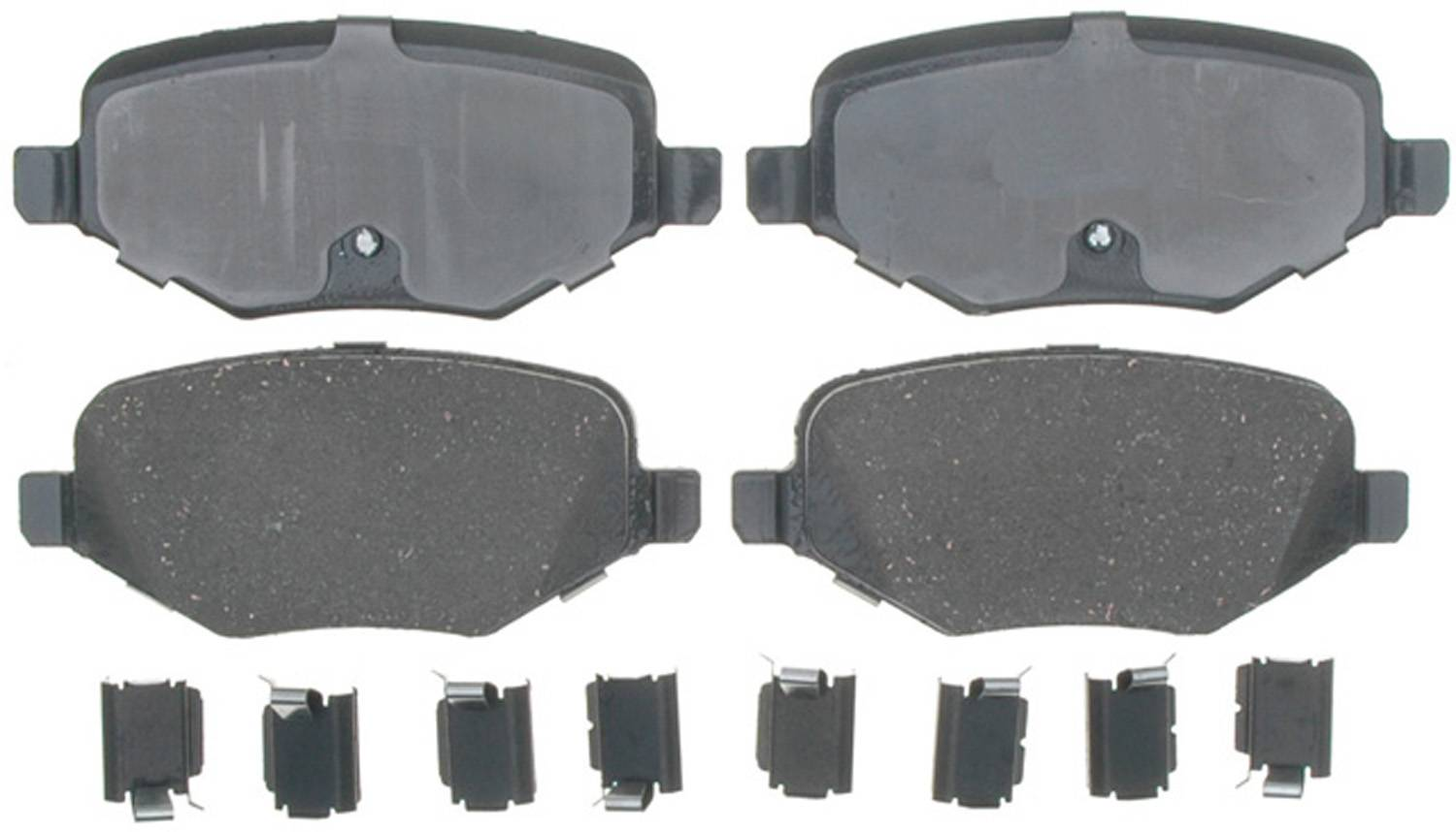 ACDELCO PROFESSIONAL BRAKES - Ceramic Disc Brake Pad (Rear) - ADU 17D1377CH
