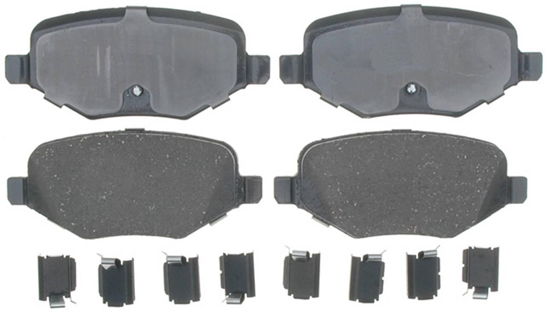 ACDELCO GOLD/PROFESSIONAL BRAKES - Ceramic Disc Brake Pad (Rear) - ADU 17D1377CH