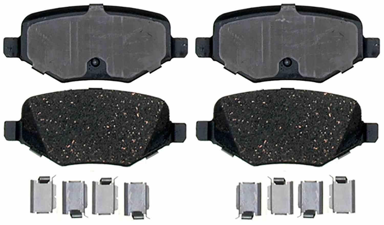 ACDELCO SPECIALTY - Fleet Semi-Metallic Disc Brake Pad (Rear) - DCE 17D1377MHSV