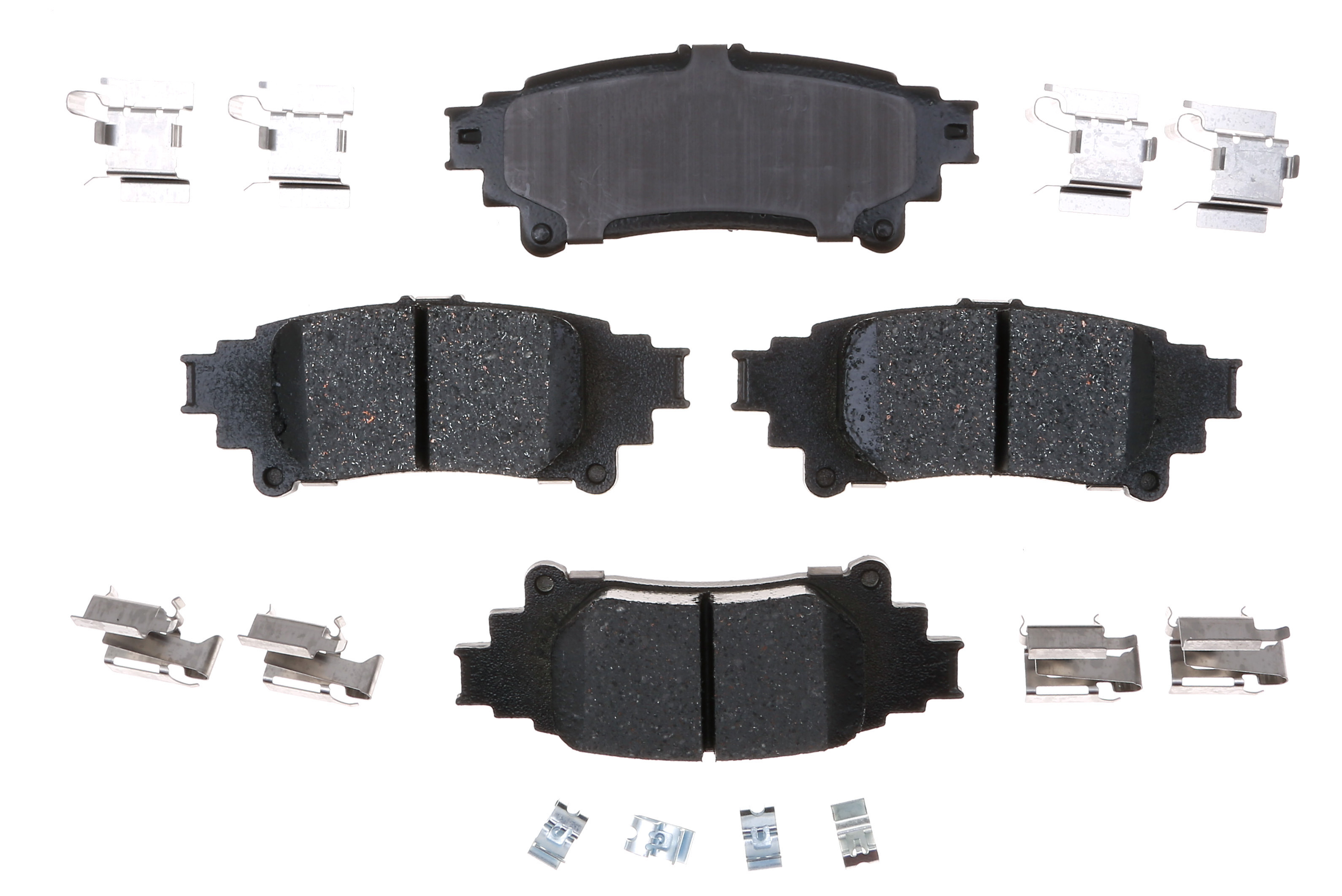 ACDELCO GOLD/PROFESSIONAL BRAKES - Ceramic Disc Brake Pad (Rear) - ADU 17D1391ACH
