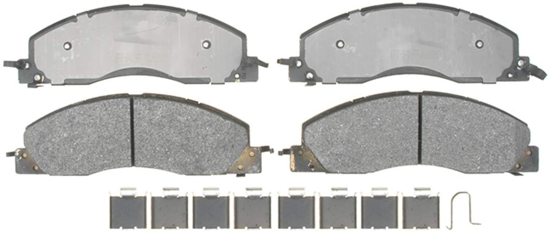ACDELCO PROFESSIONAL BRAKES - Semi Metallic Disc Brake Pad (Front) - ADU 17D1399MH