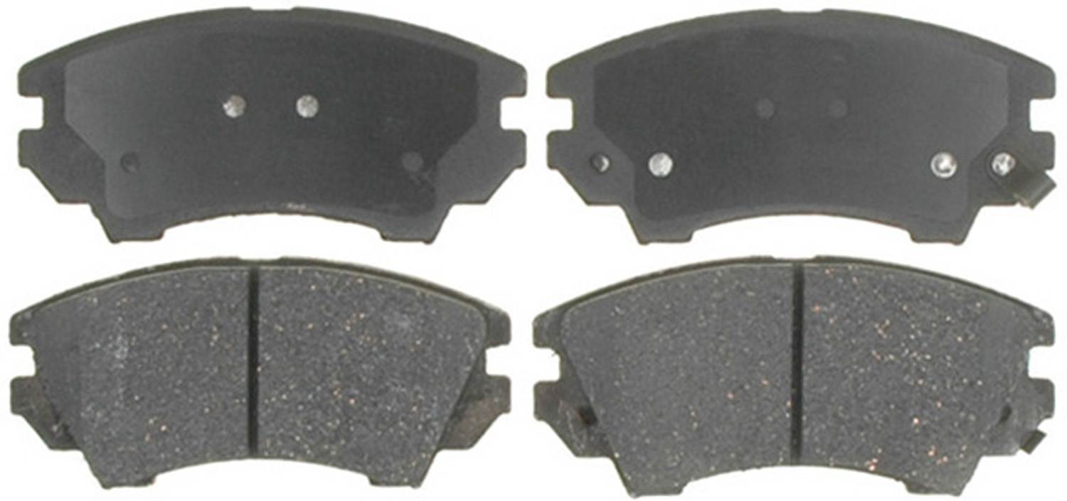 ACDELCO PROFESSIONAL BRAKES - Ceramic Disc Brake Pad (Front) - ADU 17D1404CH