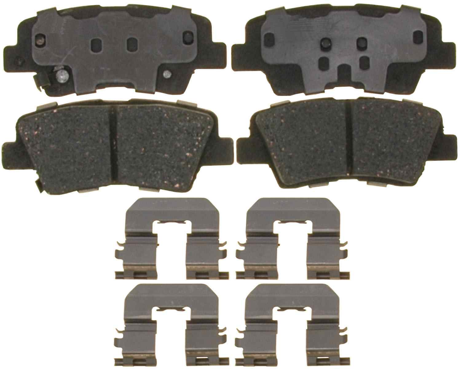 ACDELCO PROFESSIONAL BRAKES - Ceramic Disc Brake Pad (Rear) - ADU 17D1445CH