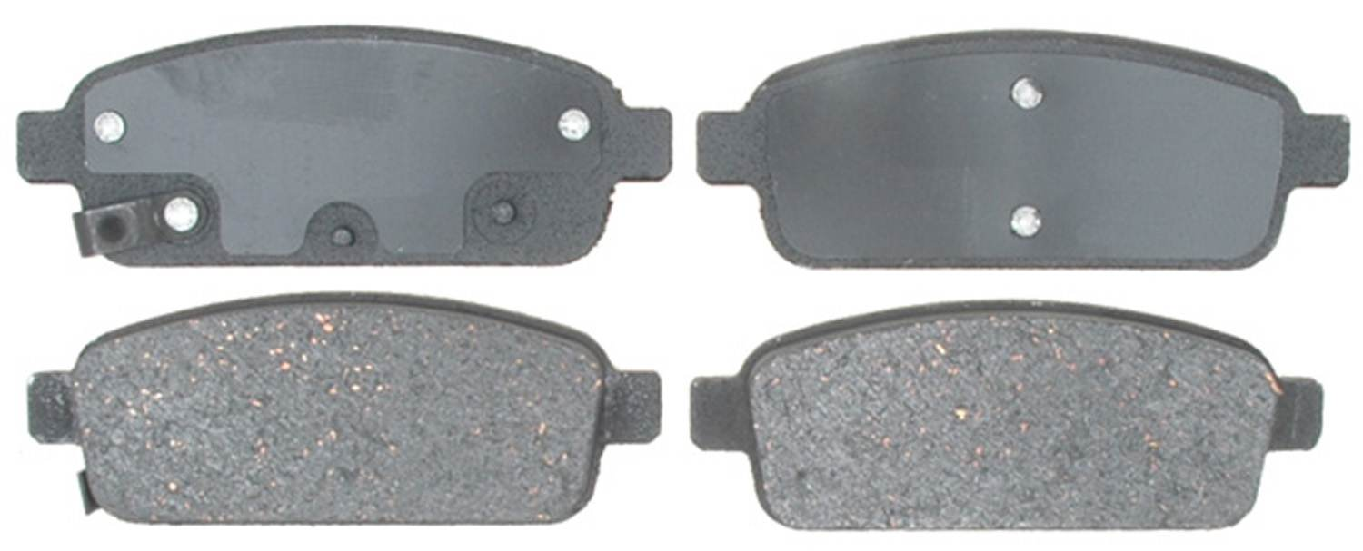 ACDELCO PROFESSIONAL BRAKES - Ceramic Disc Brake Pad (Rear) - ADU 17D1468CH