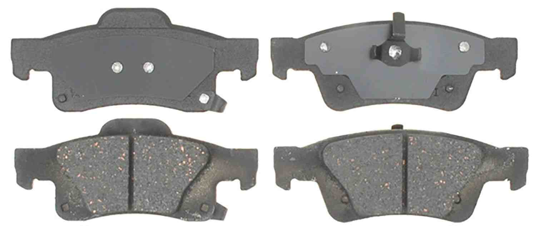 ACDELCO GOLD/PROFESSIONAL BRAKES - Ceramic Disc Brake Pad (Rear) - ADU 17D1498C