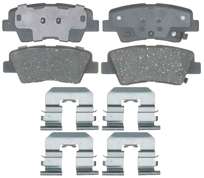 ACDELCO PROFESSIONAL BRAKES - Ceramic Disc Brake Pad (Rear) - ADU 17D1544CH