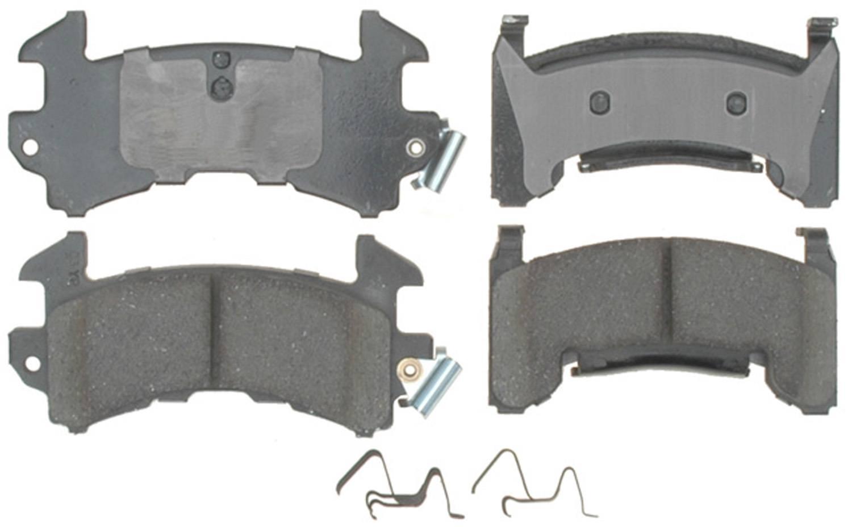ACDELCO PROFESSIONAL BRAKES - Ceramic Disc Brake Pad (Front) - ADU 17D154C