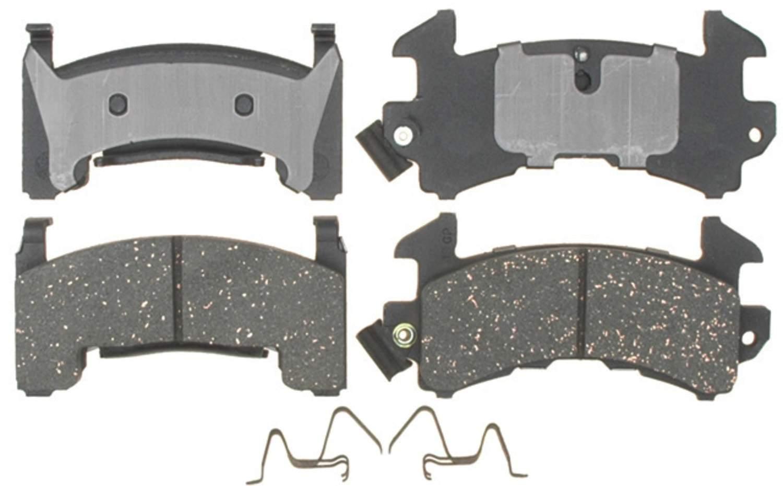 ACDELCO PROFESSIONAL BRAKES - Semi Metallic Disc Brake Pad - ADU 17D154MH