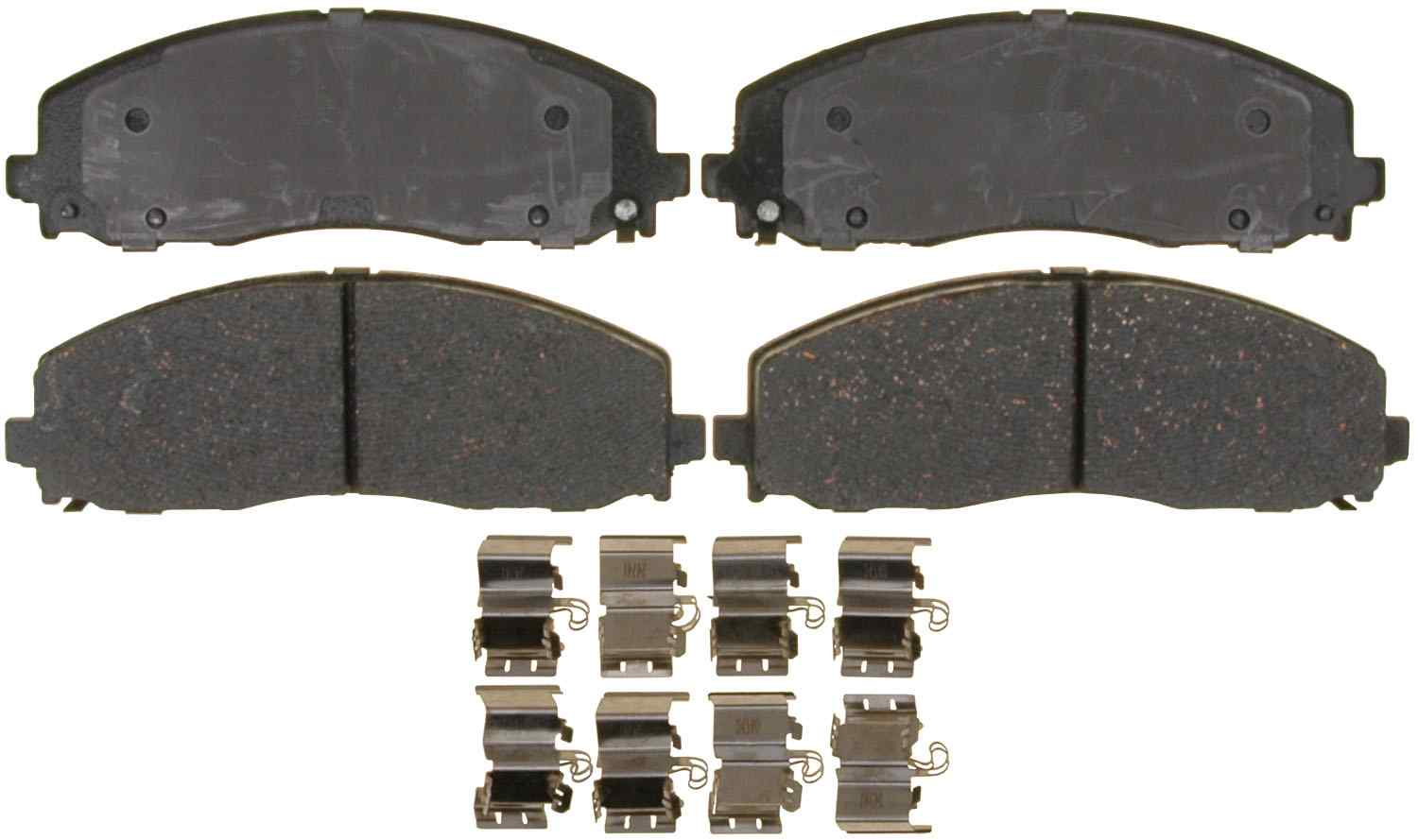 ACDELCO GOLD/PROFESSIONAL BRAKES - Ceramic Disc Brake Pad (Front) - ADU 17D1589CH