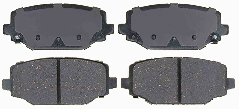 ACDELCO GOLD/PROFESSIONAL BRAKES - Ceramic Disc Brake Pad (Rear) - ADU 17D1596CH