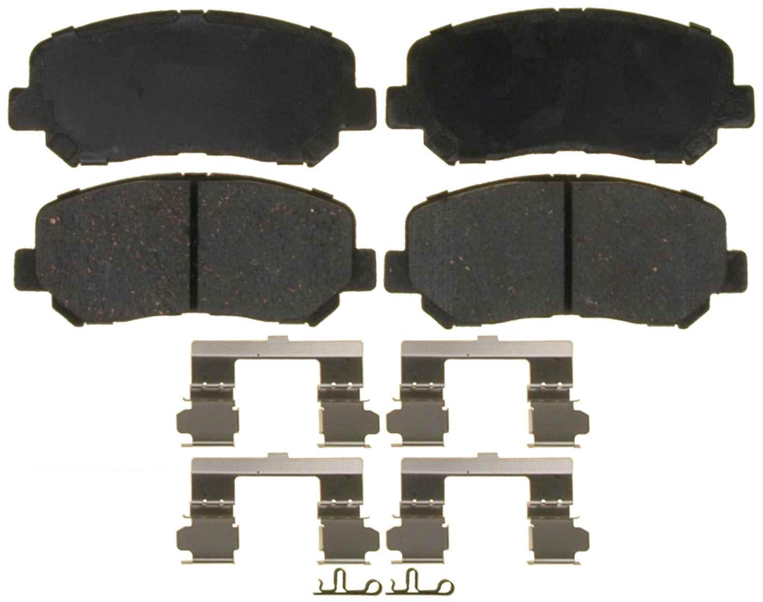 ACDELCO GOLD/PROFESSIONAL BRAKES - Ceramic Disc Brake Pad (Front) - ADU 17D1623ACH