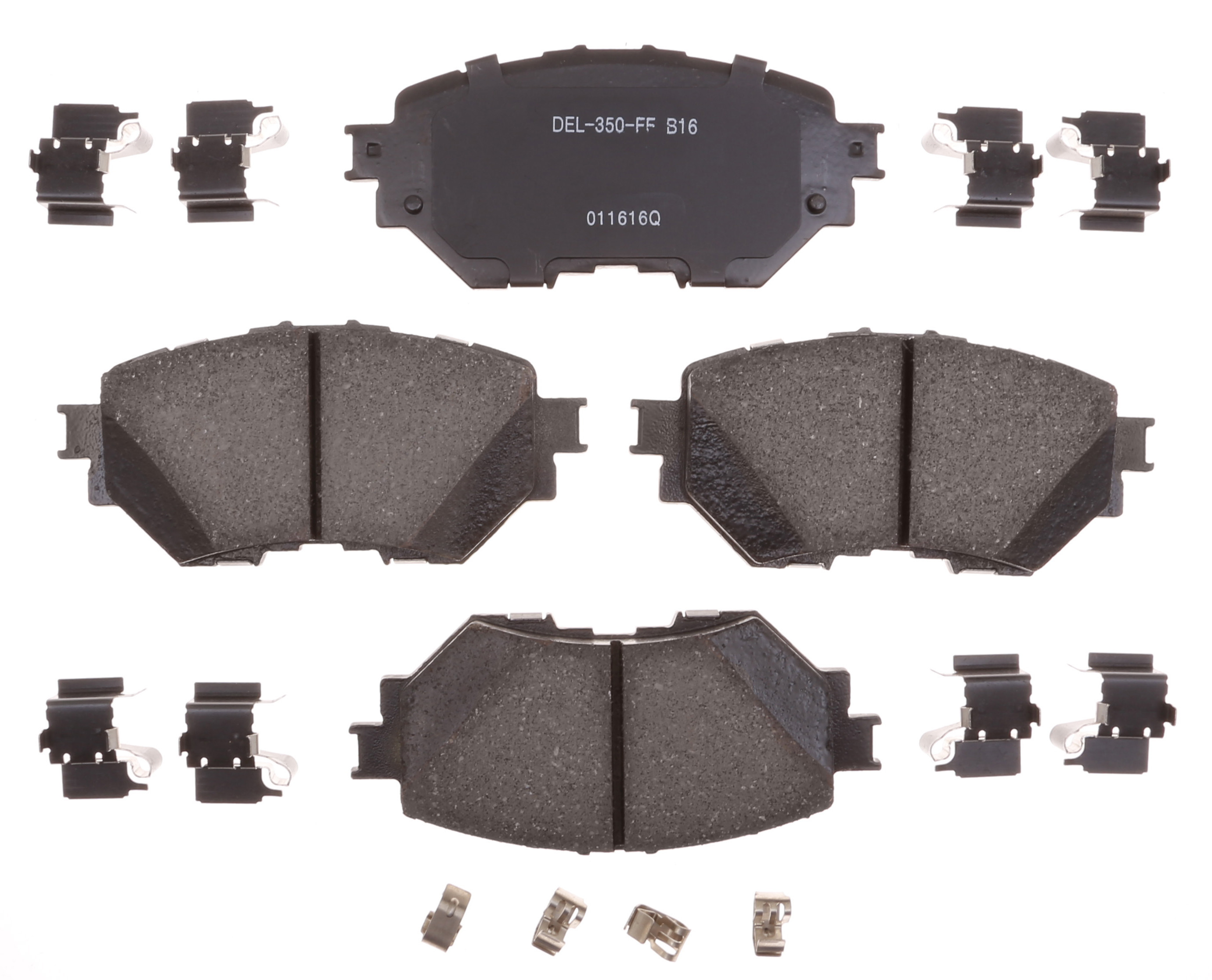 ACDELCO GOLD/PROFESSIONAL BRAKES - Ceramic Disc Brake Pad (Front) - ADU 17D1759CH