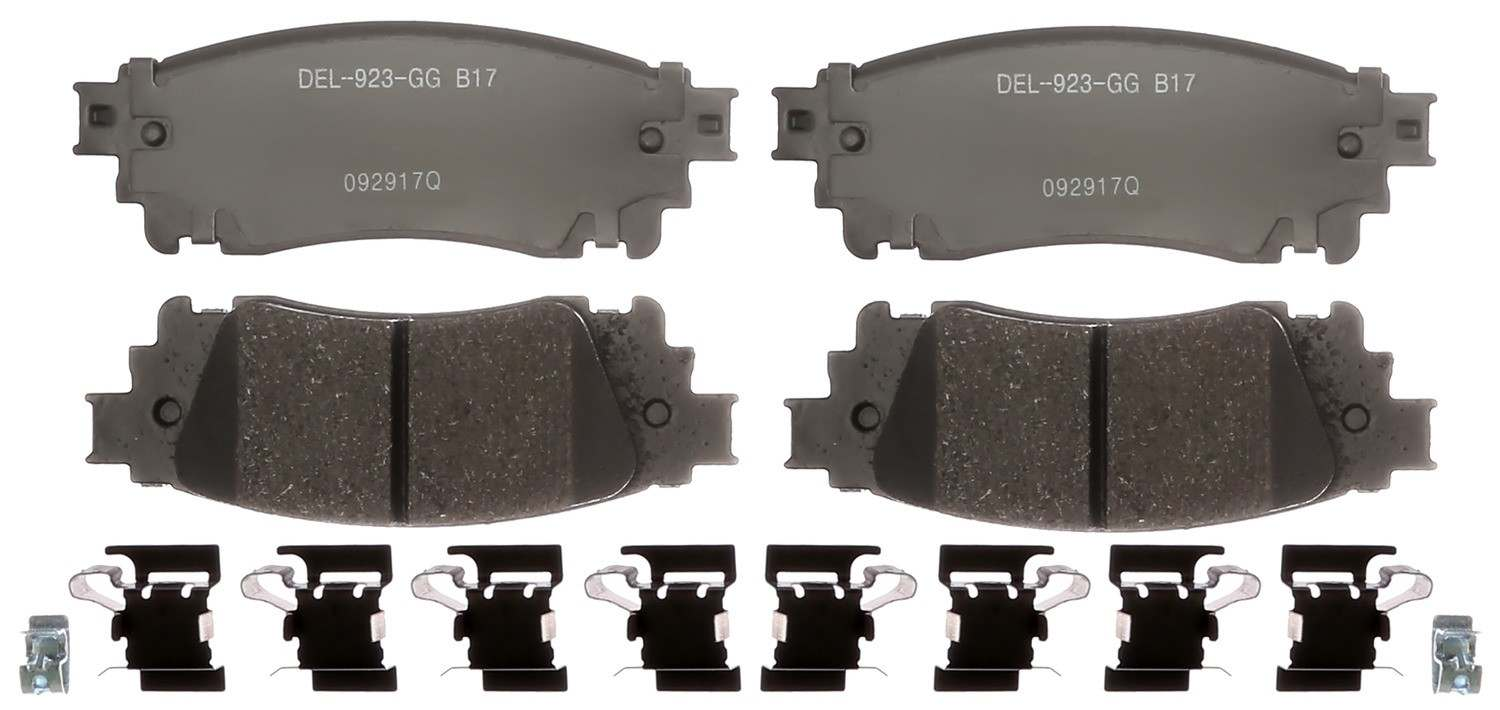 ACDELCO GOLD/PROFESSIONAL - Ceramic (Rear) - DCC 17D1805CH