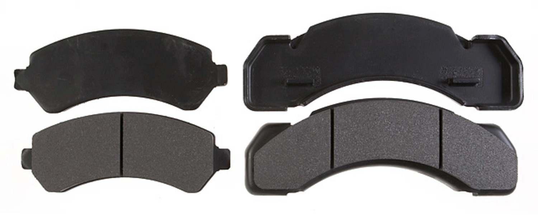 ACDELCO PROFESSIONAL BRAKES - Semi Metallic Disc Brake Pad (Front) - ADU 17D184MH
