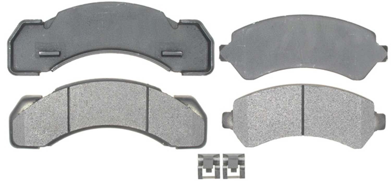 ACDELCO PROFESSIONAL BRAKES - Semi Metallic Disc Brake Pad (Front) - ADU 17D184M