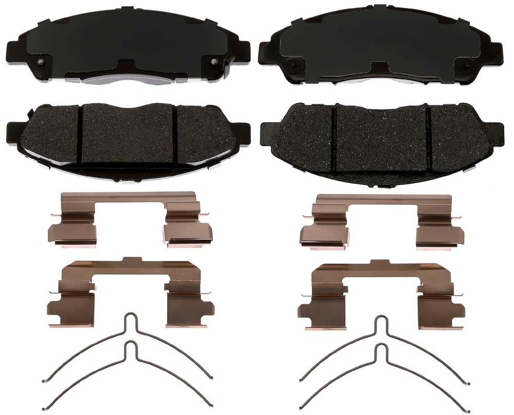 ACDELCO PROFESSIONAL BRAKES - Ceramic Disc Brake Pad (Front) - ADU 17D1896CH