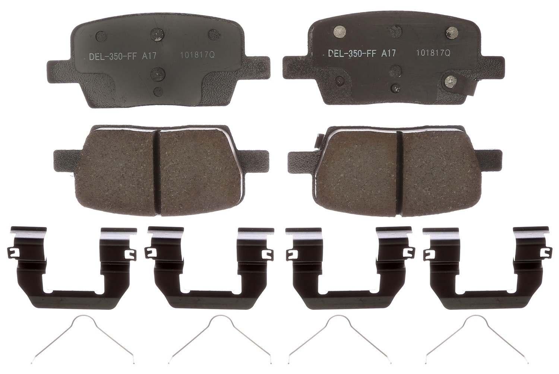 ACDELCO PROFESSIONAL BRAKES - Ceramic Disc Brake Pad (Rear) - ADU 17D1914CH