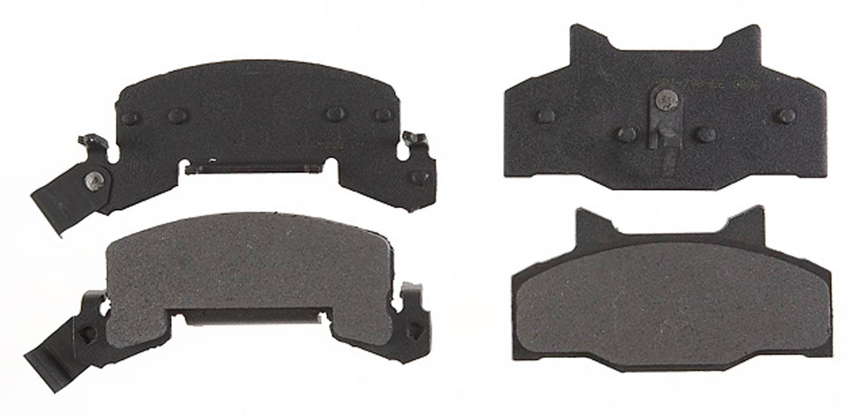 ACDELCO PROFESSIONAL BRAKES - Semi Metallic Disc Brake Pad - ADU 17D214M