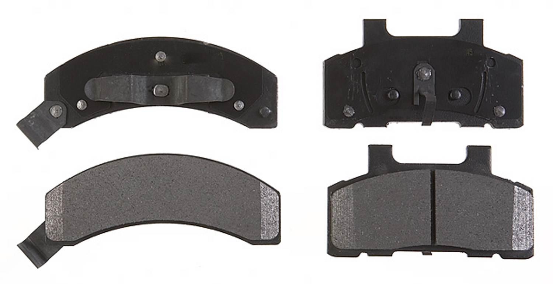 ACDELCO PROFESSIONAL BRAKES - Semi Metallic Disc Brake Pad (Front) - ADU 17D215M