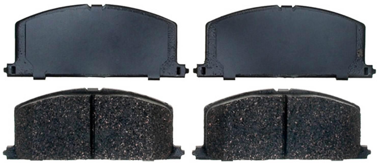 ACDELCO PROFESSIONAL BRAKES - Ceramic Disc Brake Pad - ADU 17D242C