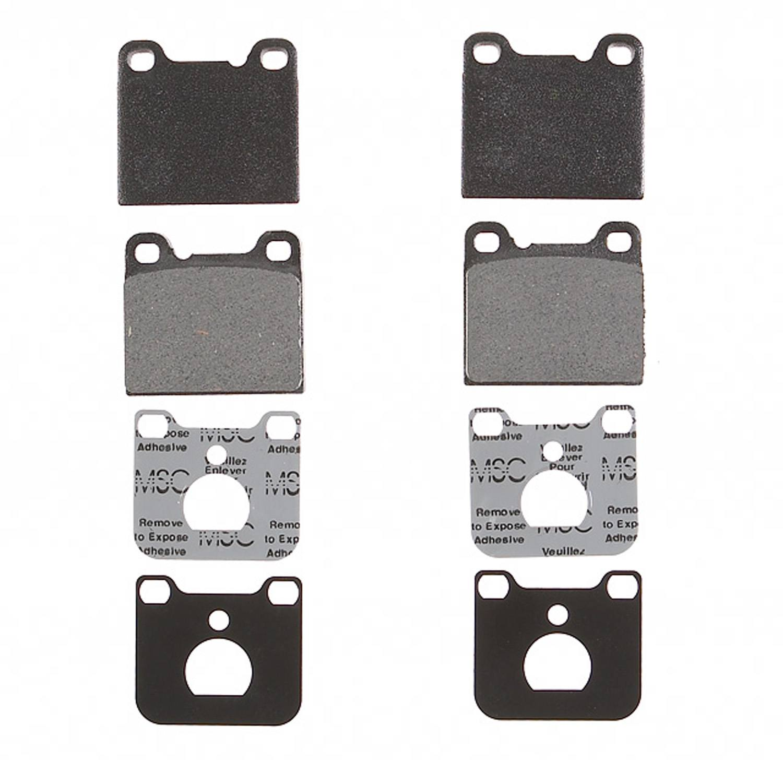 ACDELCO PROFESSIONAL BRAKES - Semi Metallic Disc Brake Pad - ADU 17D31BM