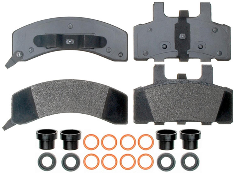 ACDELCO PROFESSIONAL BRAKES - Semi Metallic Disc Brake Pad (Front) - ADU 17D369MH