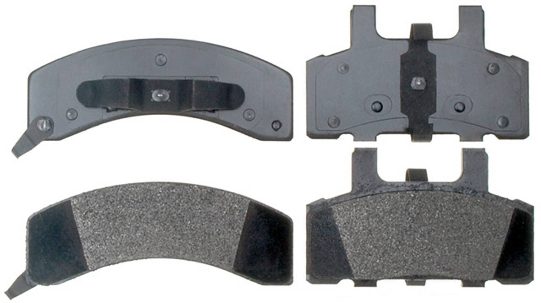 ACDELCO PROFESSIONAL BRAKES - Semi Metallic Disc Brake Pad (Front) - ADU 17D369MX