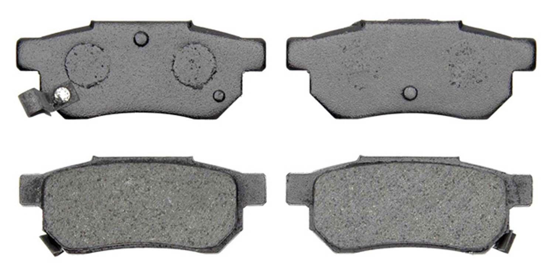 ACDELCO PROFESSIONAL BRAKES - Organic Disc Brake Pad (Rear) - ADU 17D374