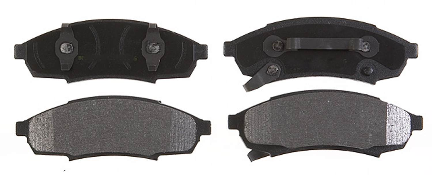 ACDELCO SPECIALTY - Performance Disc Brake Pad - DCE 17D376MX