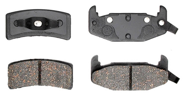 ACDELCO PROFESSIONAL BRAKES - Ceramic Disc Brake Pad - ADU 17D377C