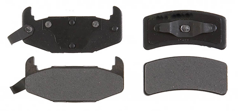 ACDELCO PROFESSIONAL BRAKES - Semi Metallic Disc Brake Pad - ADU 17D377M