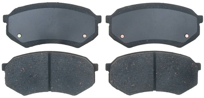 ACDELCO PROFESSIONAL BRAKES - Ceramic Disc Brake Pad - ADU 17D389C