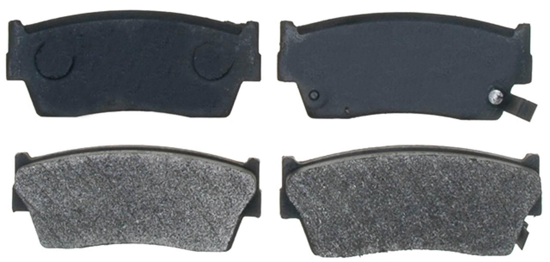 ACDELCO PROFESSIONAL BRAKES - Semi Metallic Disc Brake Pad (Front) - ADU 17D418M