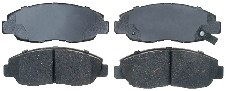 ACDELCO PROFESSIONAL BRAKES - Ceramic Disc Brake Pad (Front) - ADU 17D465C