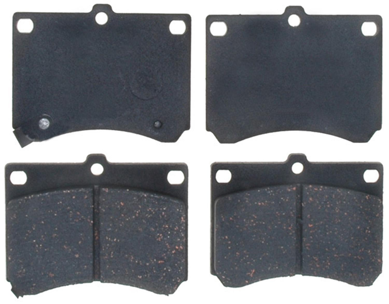 ACDELCO PROFESSIONAL BRAKES - Ceramic Disc Brake Pad (Front) - ADU 17D473C