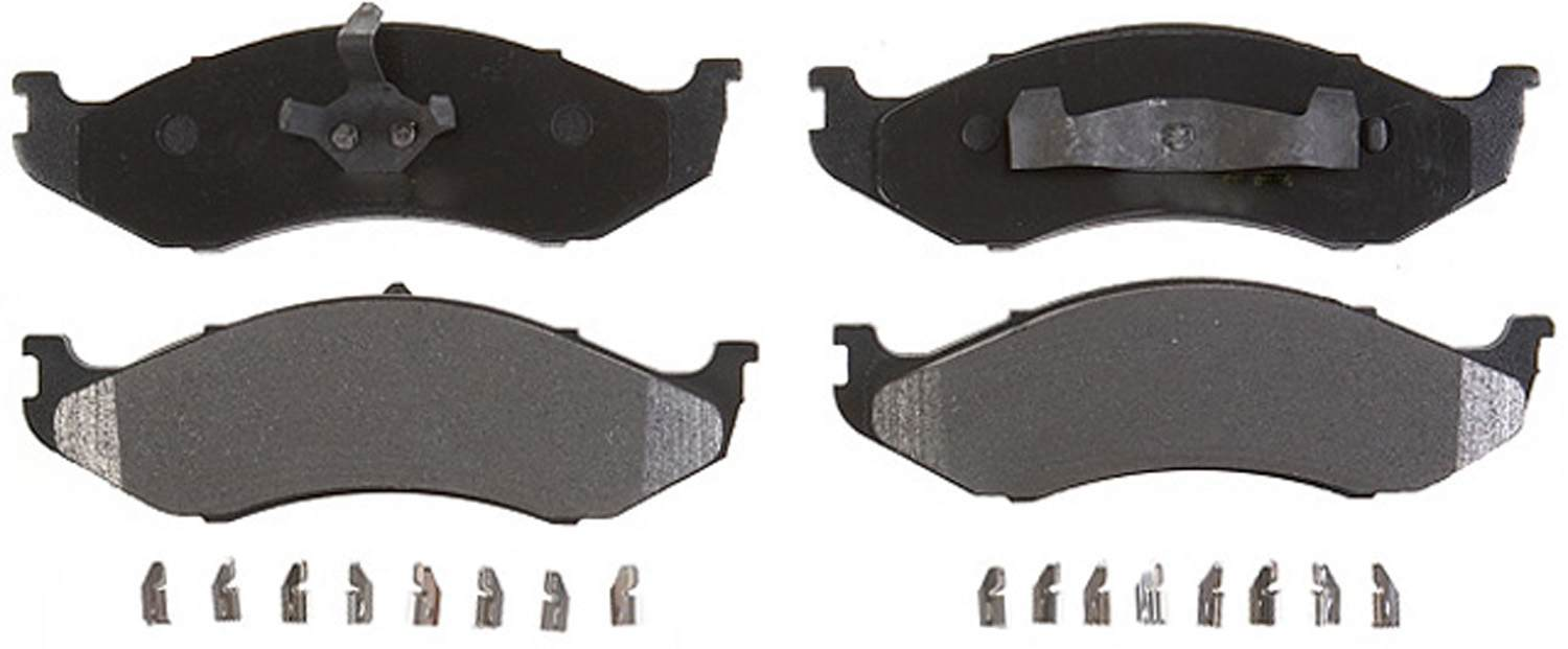 ACDELCO GOLD/PROFESSIONAL - Semi-Metallic (Front) - DCC 17D477MH