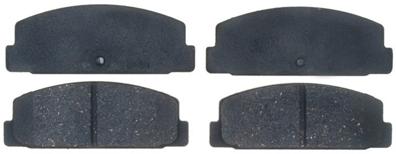 ACDELCO PROFESSIONAL BRAKES - Ceramic Disc Brake Pad (Rear) - ADU 17D482C