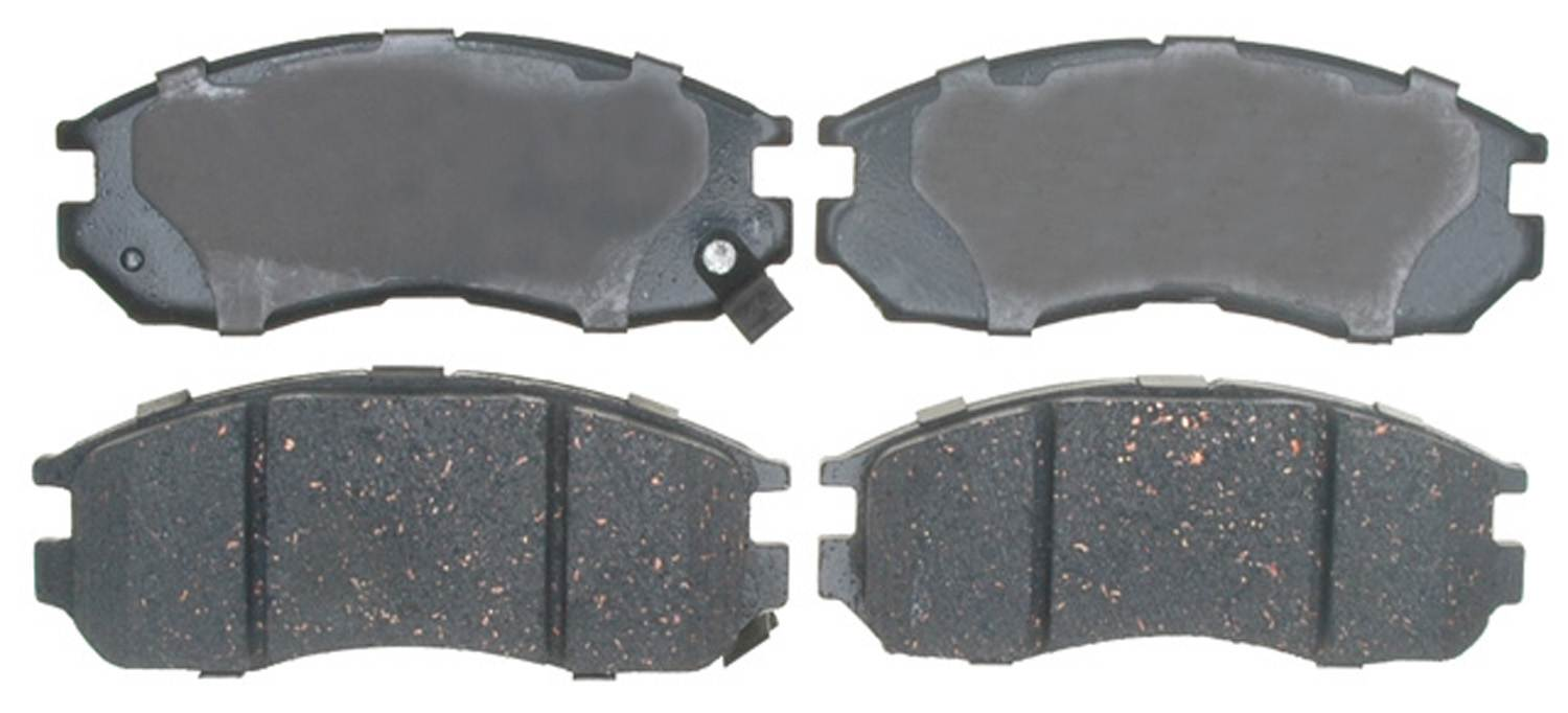 ACDELCO GOLD/PROFESSIONAL BRAKES - Ceramic Disc Brake Pad (Front) - ADU 17D484C