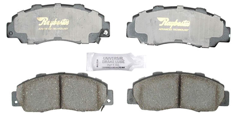 ACDELCO PROFESSIONAL BRAKES - Ceramic Disc Brake Pad (Front) - ADU 17D503C