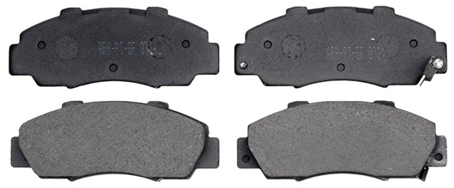 ACDELCO PROFESSIONAL BRAKES - Organic Disc Brake Pad (Front) - ADU 17D503