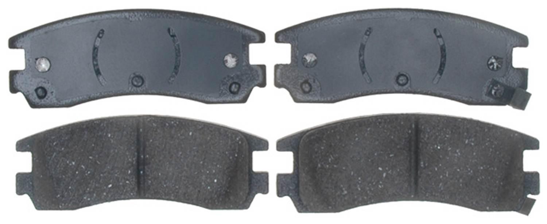 ACDELCO PROFESSIONAL BRAKES - Ceramic Disc Brake Pad (Rear) - ADU 17D508C