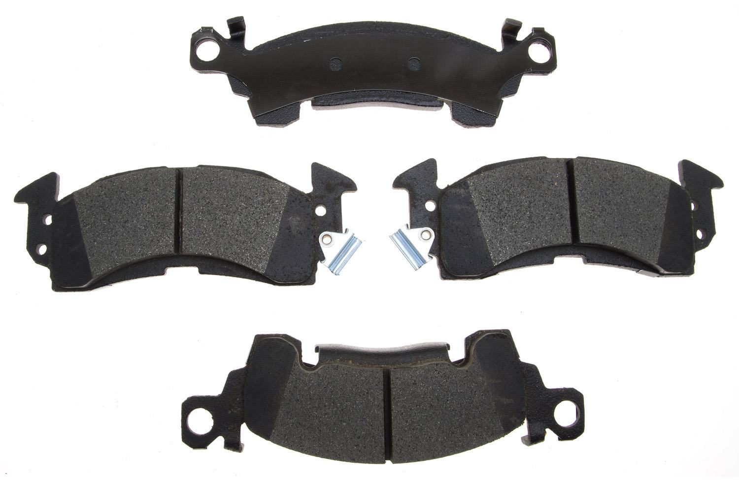 ACDELCO PROFESSIONAL BRAKES - Ceramic Disc Brake Pad (Front) - ADU 17D52CH