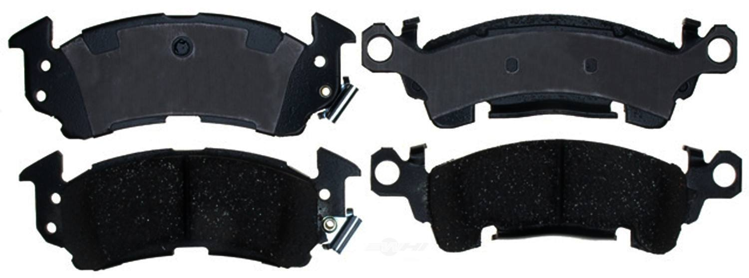 ACDELCO PROFESSIONAL BRAKES - Ceramic Disc Brake Pad (Front) - ADU 17D52C
