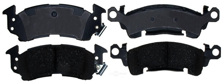 ACDELCO PROFESSIONAL BRAKES - Ceramic Disc Brake Pad - ADU 17D52C