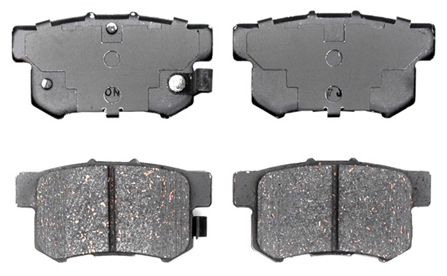 ACDELCO PROFESSIONAL BRAKES - Ceramic Disc Brake Pad (Rear) - ADU 17D537C