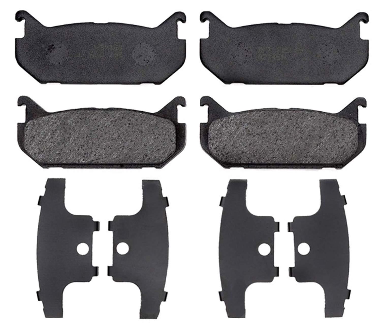 ACDELCO PROFESSIONAL BRAKES - Organic Disc Brake Pad (Rear) - ADU 17D584