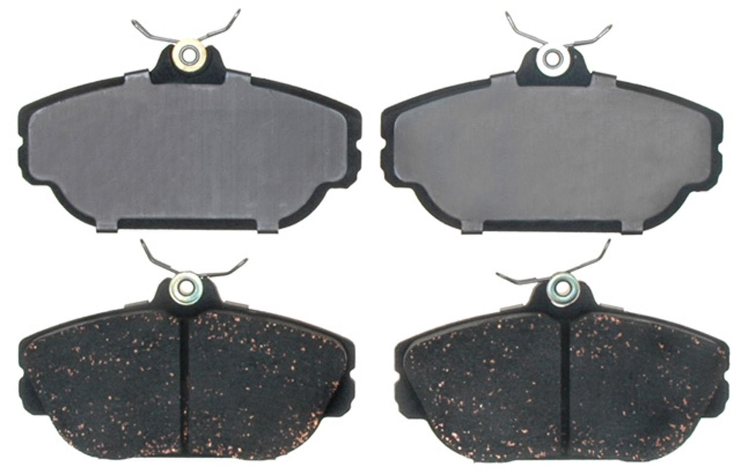 ACDELCO PROFESSIONAL BRAKES - Organic Disc Brake Pad (Front) - ADU 17D601