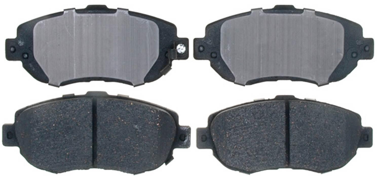 ACDELCO PROFESSIONAL BRAKES - Ceramic Disc Brake Pad (Front) - ADU 17D619C