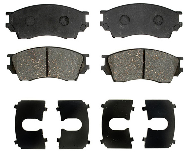 ACDELCO PROFESSIONAL BRAKES - Ceramic Disc Brake Pad (Front) - ADU 17D643C