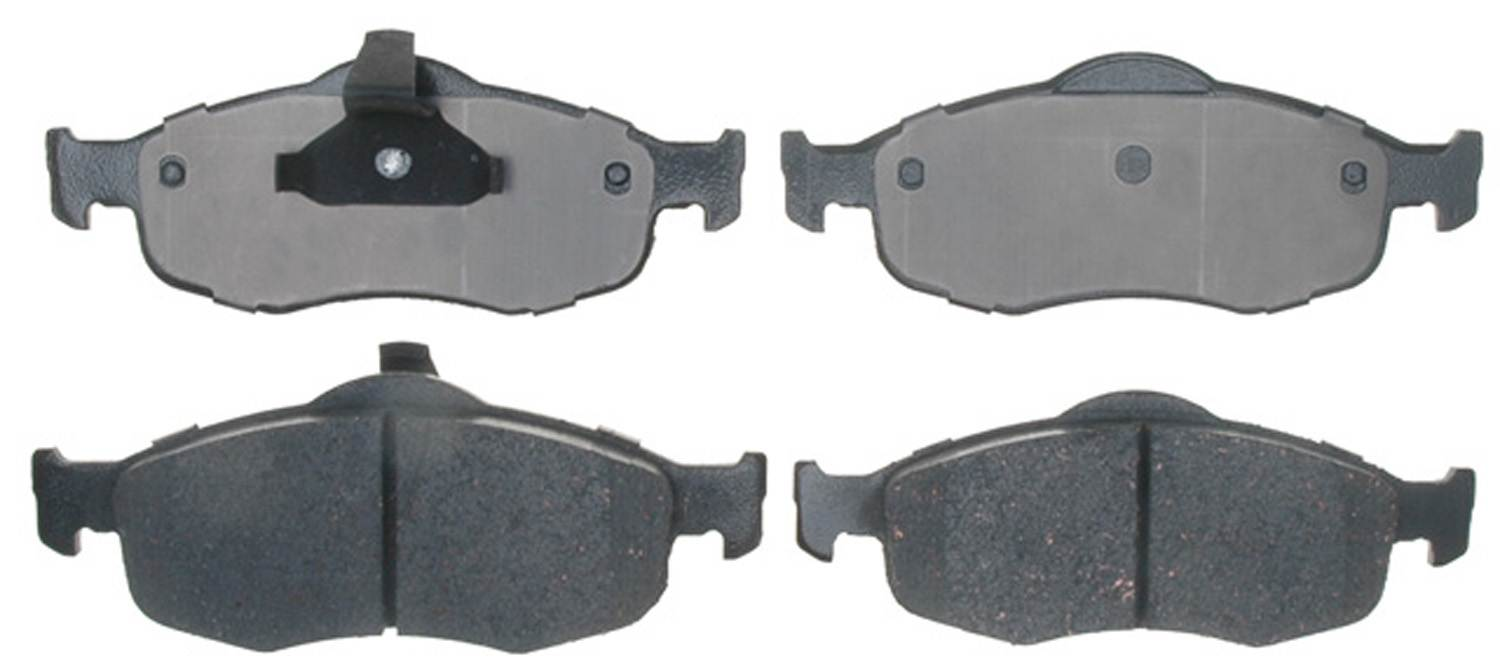 ACDELCO PROFESSIONAL BRAKES - Ceramic Disc Brake Pad (Front) - ADU 17D648C